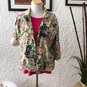 Graffiti lightweight jacket/shirt